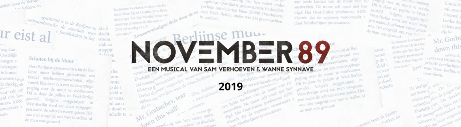 MUSICAL : NOVEMBER 89