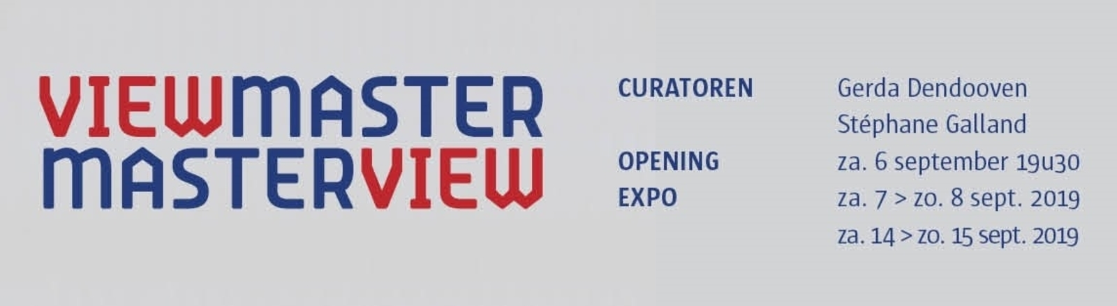 EXPO [ VIEWMASTER MASTERVIEW ]